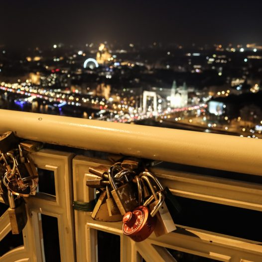 Citadella Budapest Love Locks